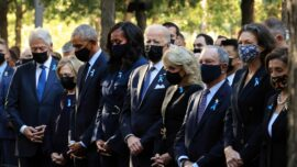 Bidens Join Ceremony at Ground Zero on 20th Anniversary of 9/11 Attacks
