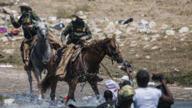 Psaki: Horse Patrols Temporarily Suspended at Haitian Camp in Del Rio