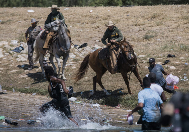 U.S. Customs and Border Protection mounted officers