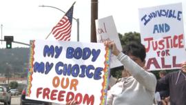 California Medical Workers Protest Vaccine Mandates