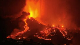 Thousands Flee as Volcano Erupts on Spain's La Palma Island, Homes Destroyed