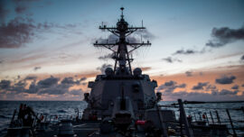 US and Canadian Warships Sailed Through Taiwan Strait Last Week