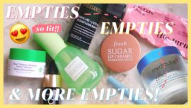 Products We Finished! Which Ones Are Actually Worth Repurchasing? October Empties (2021)