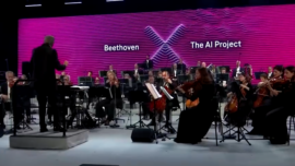 Artificial Intelligence Completes Symphony