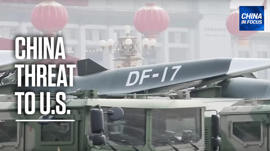 'China Wants to Be the World's Hegemon': Rick Fisher on China's Hypersonic Missile Test