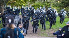 Strict Enforcement of Lockdowns in Australia