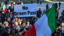 Italy Mandates All Workers Show COVID-19 'Green Pass,' Prompting Protests