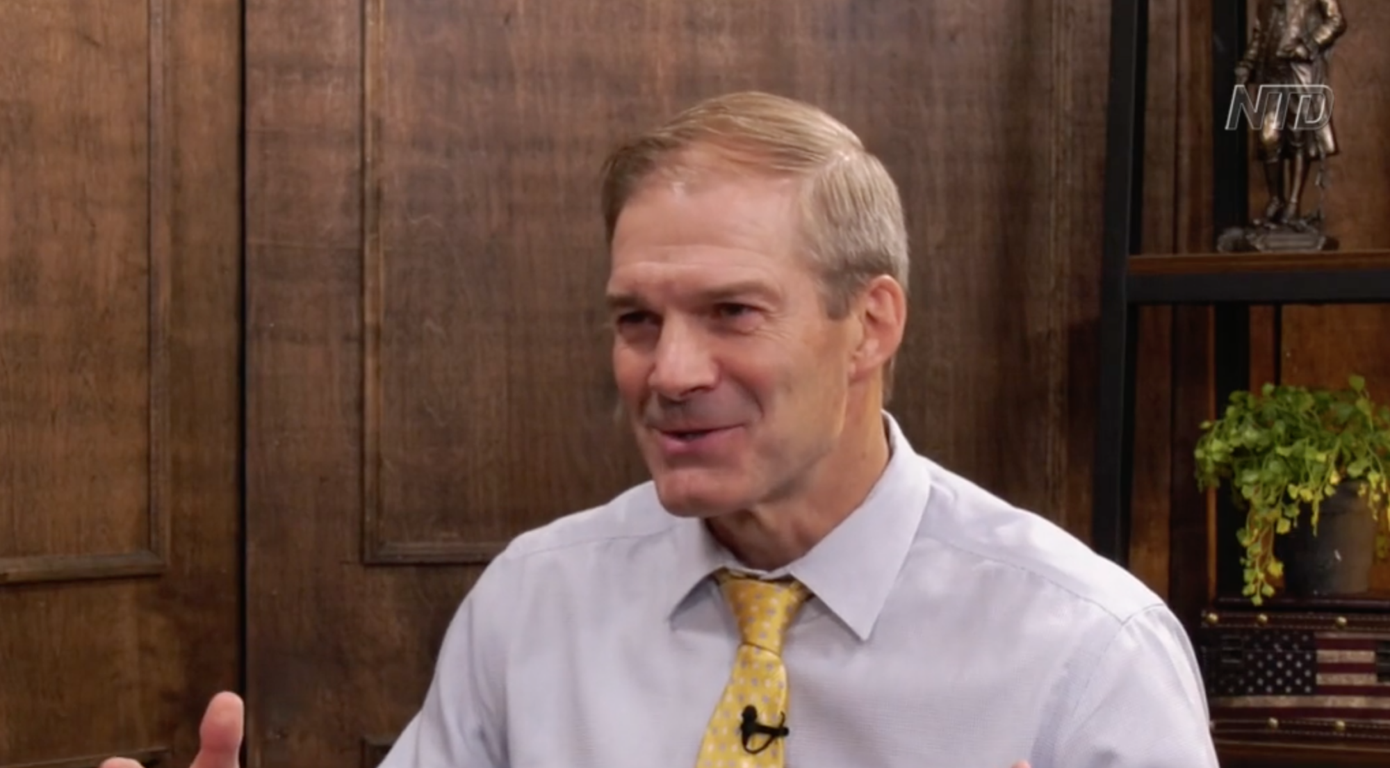 Rep. Jim Jordan on His Book, Taxing Unrealized Capital Gains, and the Origins of the CCP Virus