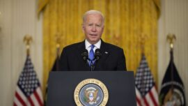 Biden Calls on Private Sector to 'Step Up' to Address Supply Bottlenecks