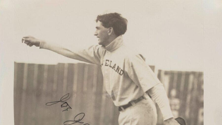 'Shoeless' Joe Jackson Signed Baseball Photo Sells for Record Price at Auction