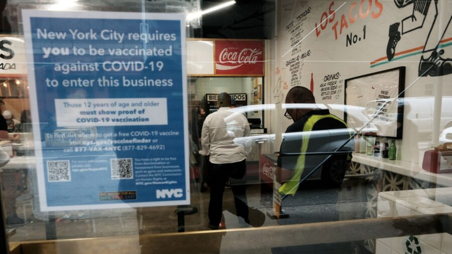Federal Judge Grants Injunction Against NY COVID-19 Vaccine Mandate for Health Care Workers