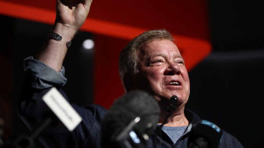 Star Trek's Captain Kirk Rocketing Into Space Next Week