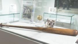 Baseball Memorabilia Goes up for Auction