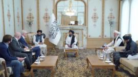 UK Special Envoy Meets Taliban in Afghanistan