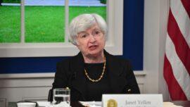 US Treasury Secretary Yellen Holds Talks With China's Trade Negotiator