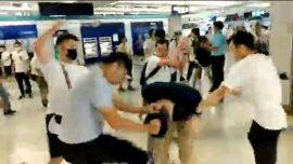 Hong Kong Sentences 7 for Train Station Attack