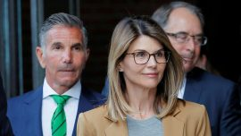 Loughlin, Giannulli Set for October Trial in College Scam