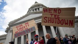 Anti-Lockdown Protests Spread Across America
