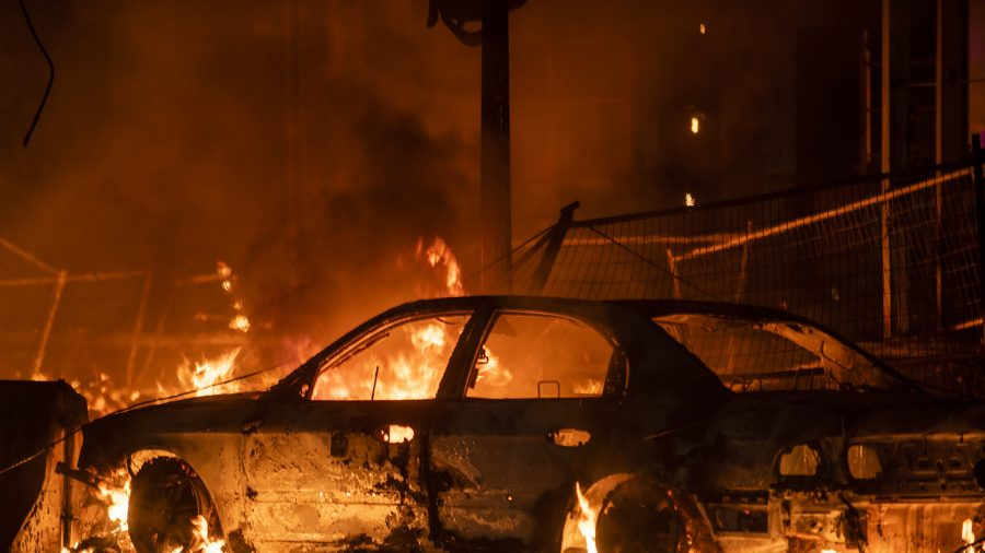 Mandatory Curfew for Minneapolis, St. Paul After Days of Destruction