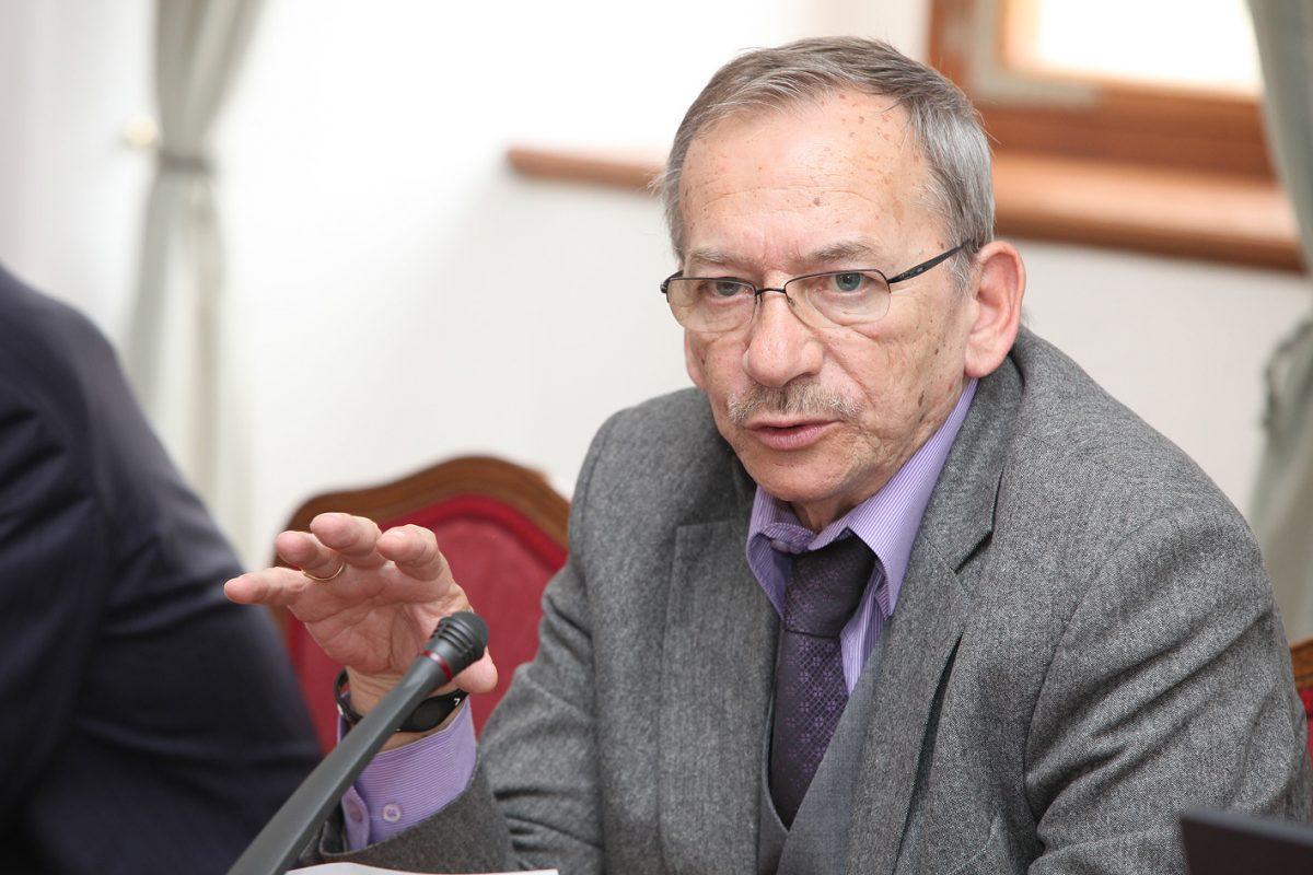 Czech Senate speaker Jaroslav Kubera