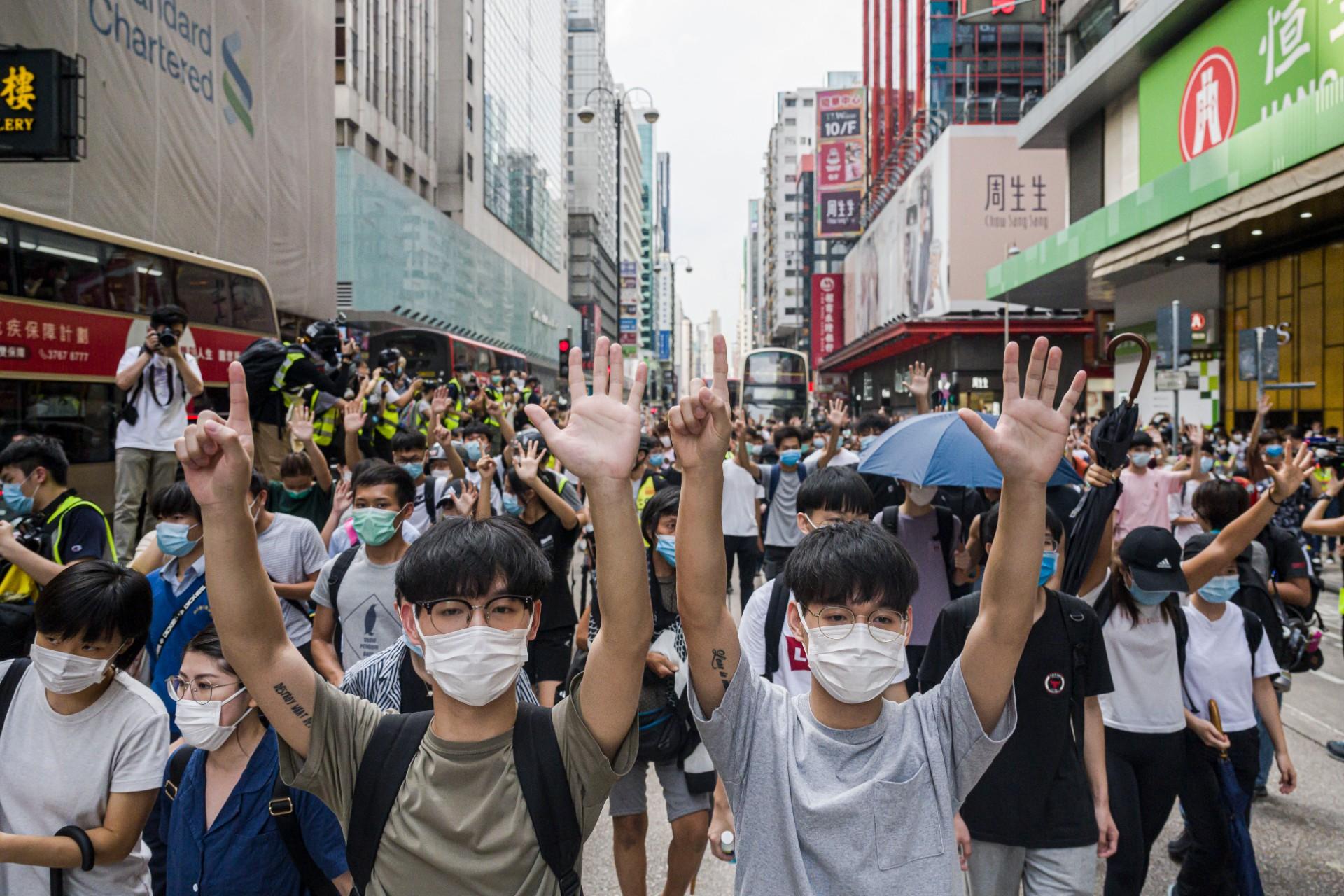 hong kong protest mong