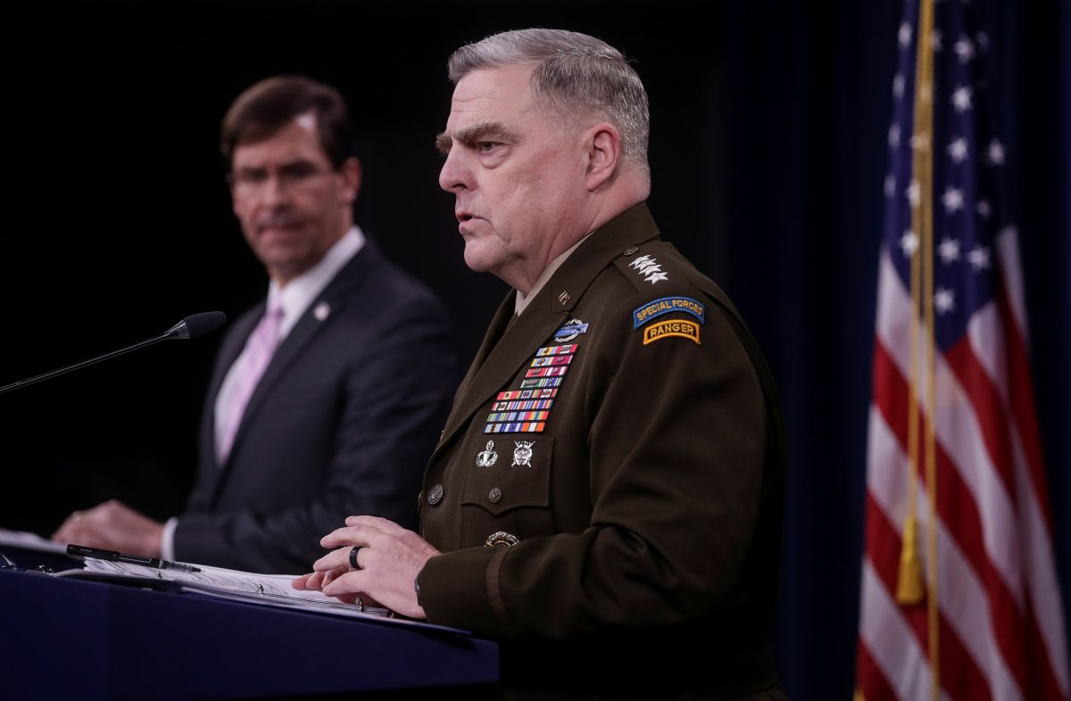 Joint Chiefs Chairman Army Gen. Mark Milley