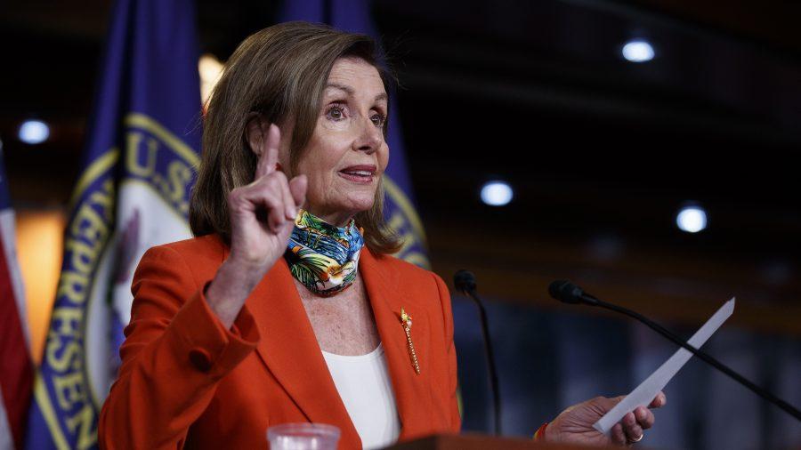 Pelosi Says GOP, Democrats Are Far Apart on Stimulus Talks