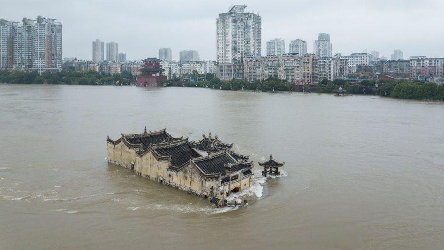 All Three of China's Main Rivers Flooded, with Millions Living in Danger Zones