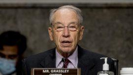 Grassley Asks DOJ to Look Into Hunter Biden