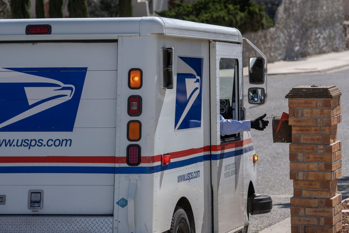 United States Postal Service mail carrier