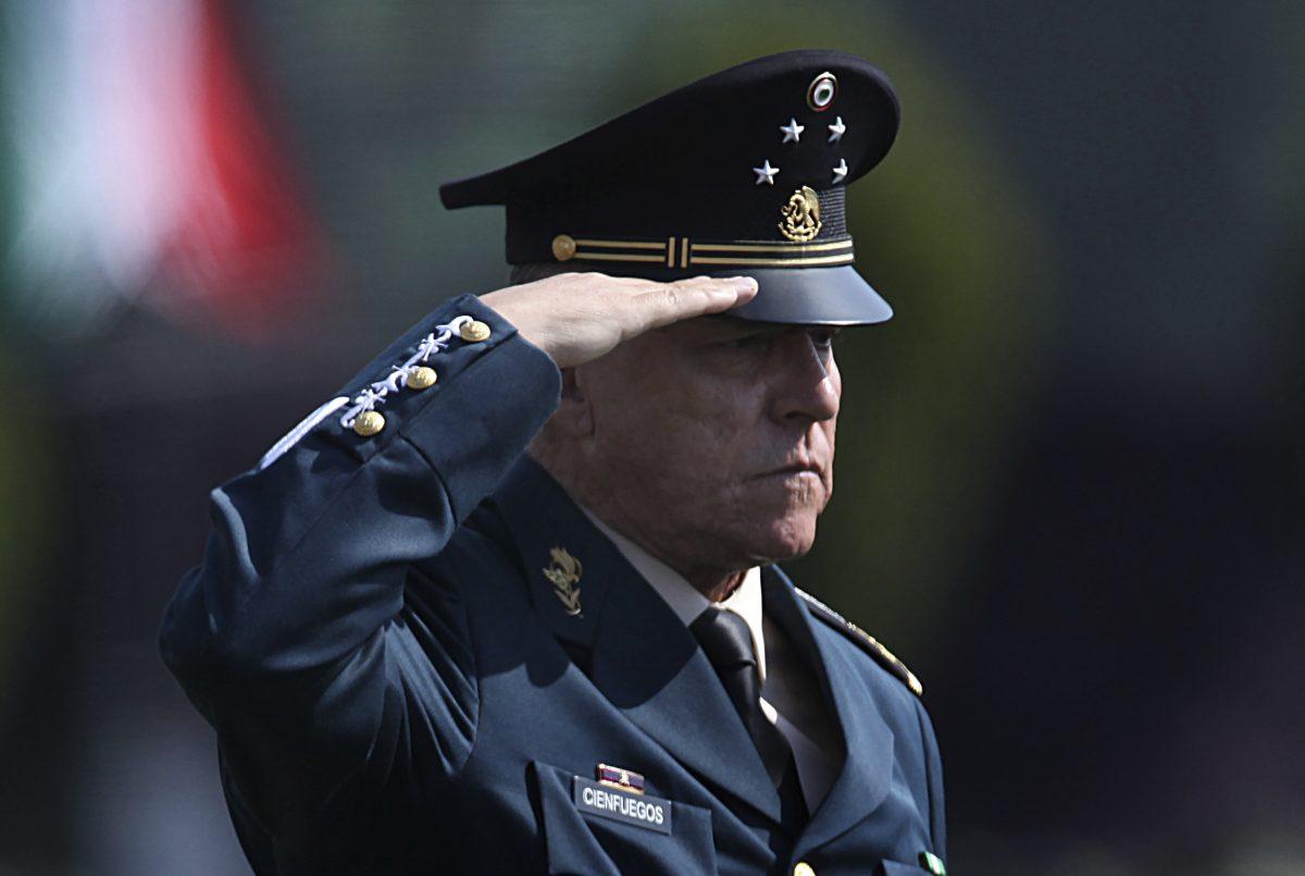 Mexico's Defense Secretary Gen. Salvador Cienfuegos Zepeda