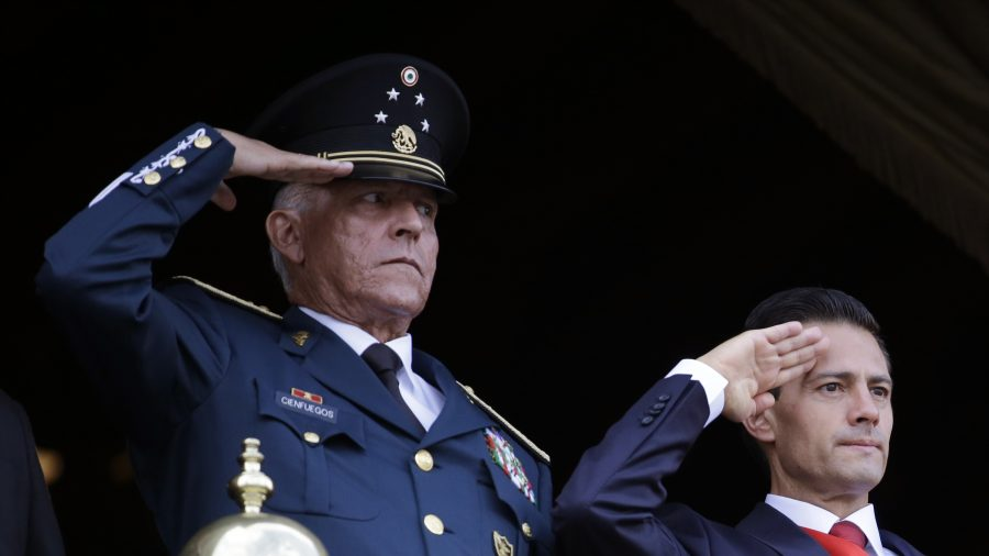 Arrest of Former Mexican Defence Minister Shakes Military