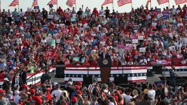 Trump Speaks at Rally in Arizona, Kamala Harris in Florida