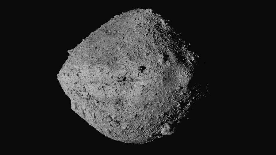 NASA Probe Leaking Asteroid Samples After Hearty Collection