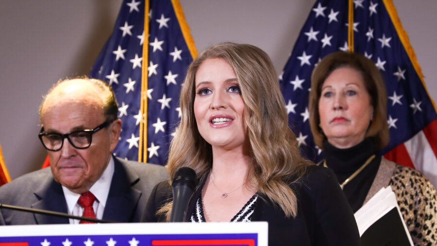 Trump Lawyer Jenna Ellis: 'Independent Team' Involved in Forensic Audit of 22 Dominion Machines in Michigan