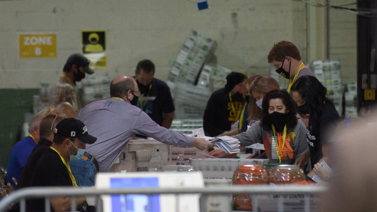 Allegheny County Election Officials Continue Counting Ballots