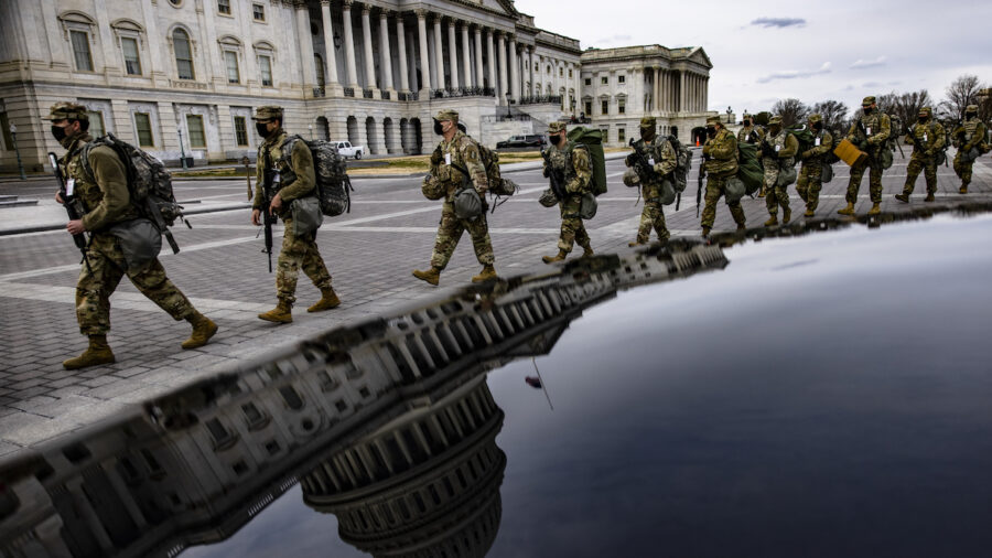 Washington Highly Militarized Ahead of Biden's Inauguration