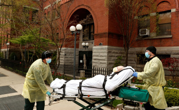 Patient from Cobble Hill Health Center nursing home