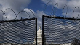 Republicans Call on Pelosi to Remove 'Military-Style Fencing' Around Capitol