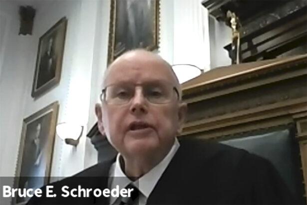 Judge Bruce Schroeder