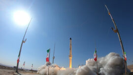 Iranian State TV Airs Launch of New Satellite-Carrying Rocket