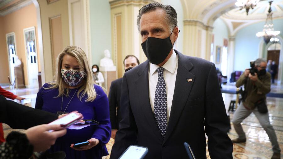 Utah Republican Party Refuses to Censure Sen. Mitt Romney