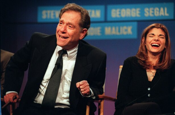 George Segal (L) and Laura San-Giacomo
