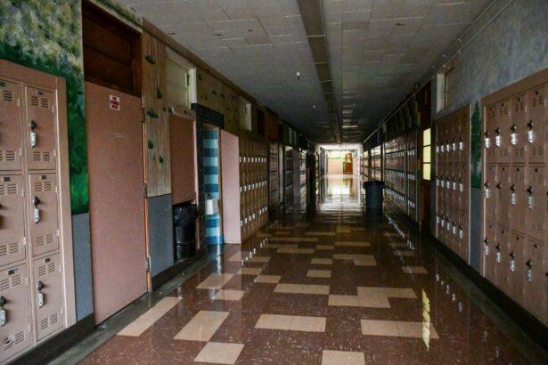 Hollywood High hallway