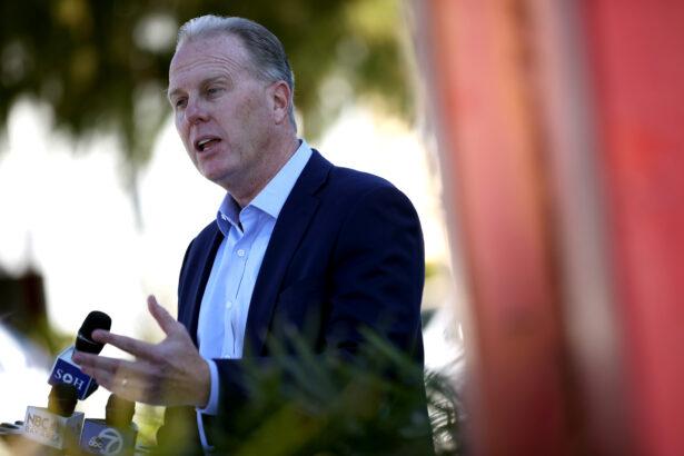 Former San Diego Mayor Kevin Faulconer