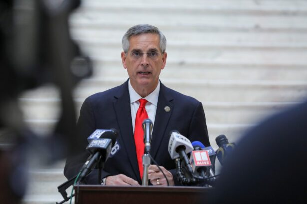 Georgia Secretary of State Brad Raffensperger