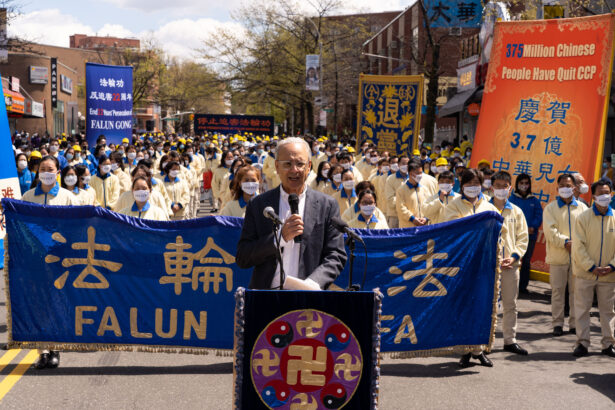 Falun Gong parade