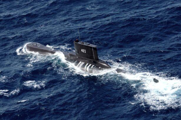 Indonesian Navy submarine KRI Nanggala