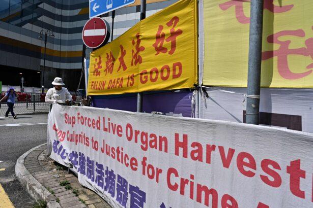 HONG KONG-CHINA-RELIGION-RIGHTS-FALUNGONG