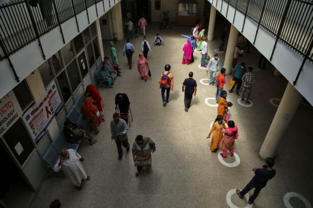 People in hospital